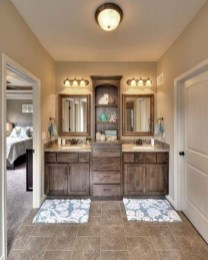 Amazing Farmhouse Bathroom Decor For Small Space 35