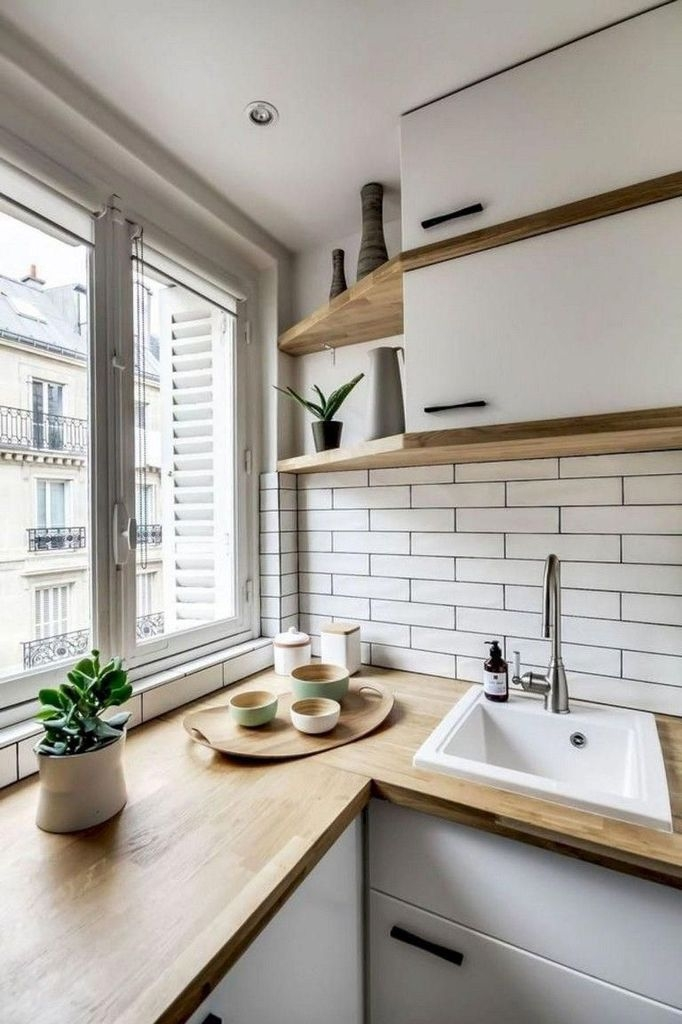 Amazing Modern Farmhouse Kitchen Decoration For Small Space 29