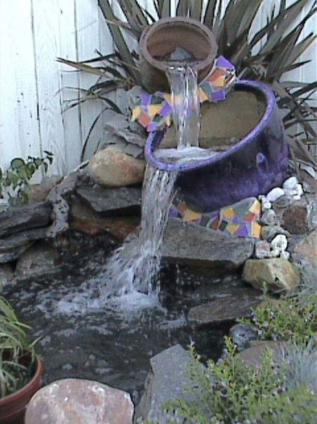 Awesome DIY Ponds Ideas With Small Waterfall 01