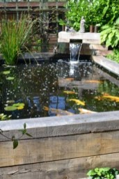 Awesome DIY Ponds Ideas With Small Waterfall 25