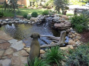 Awesome DIY Ponds Ideas With Small Waterfall 27