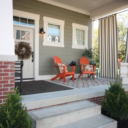 Best Front Porch Decor For Relax Place 08