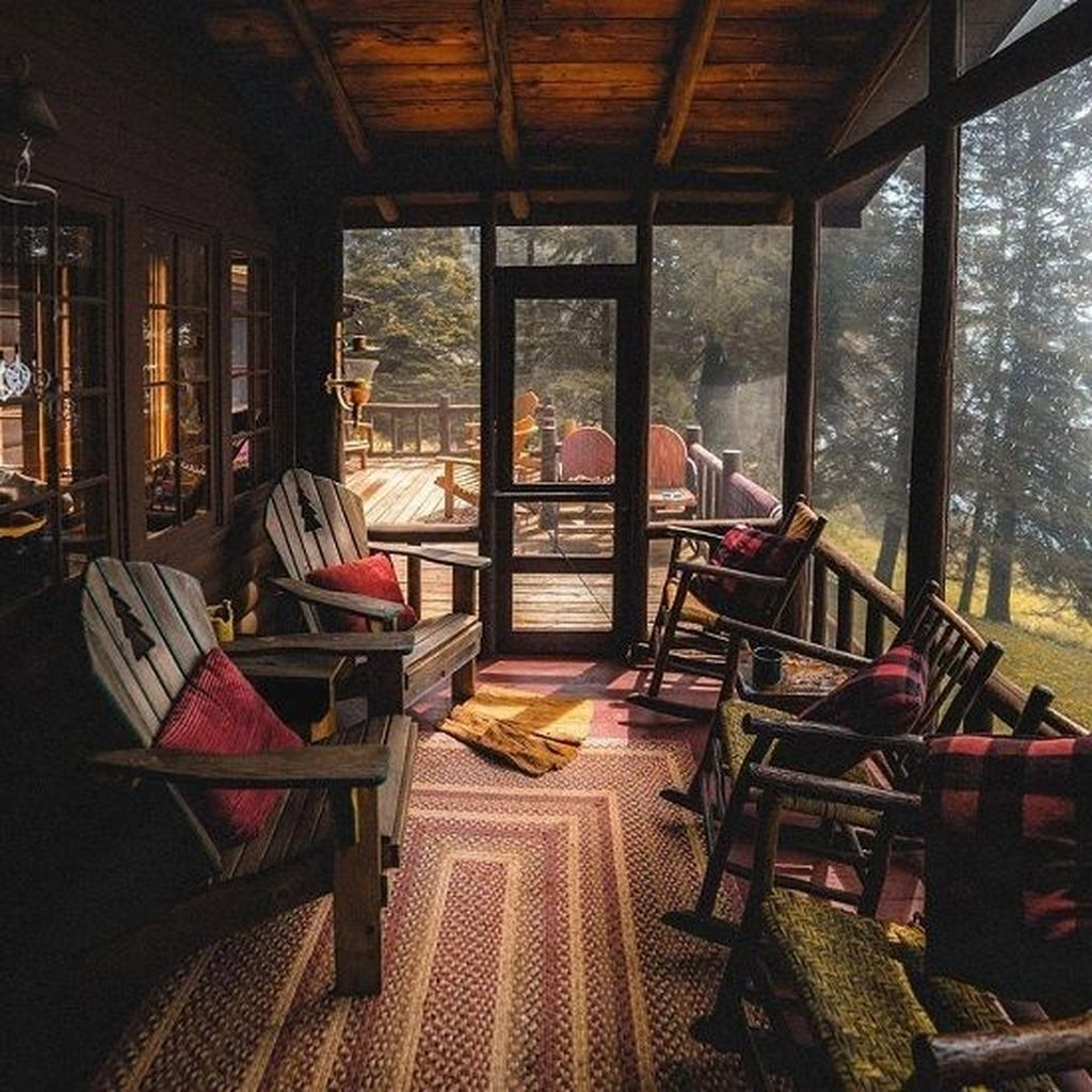 Best Front Porch Decor For Relax Place 37