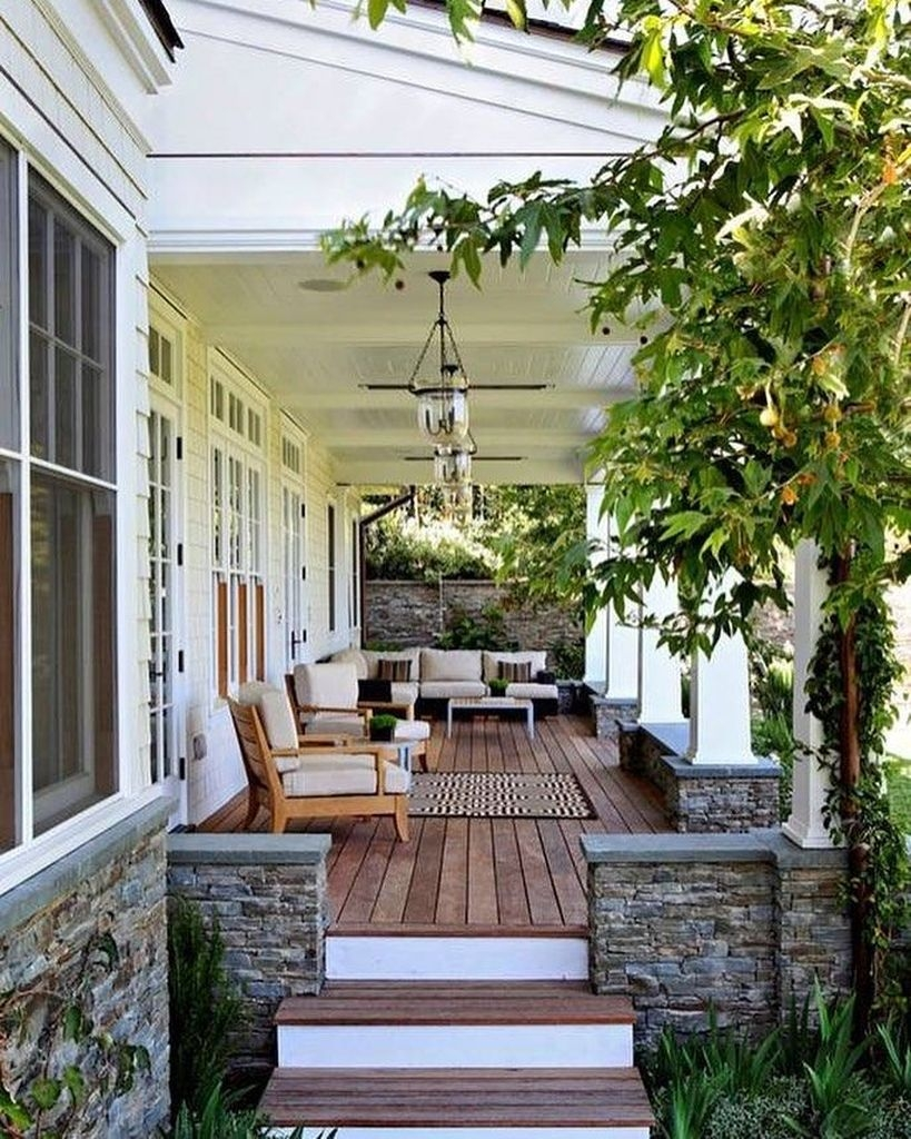 Best Front Porch Decor For Relax Place 39
