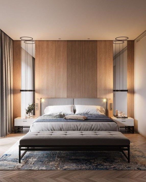 Clever Bedroom Lighting For Big Space 18