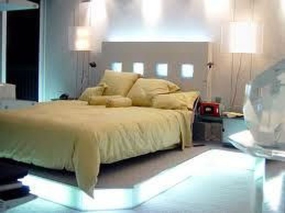 Clever Bedroom Lighting For Big Space 33