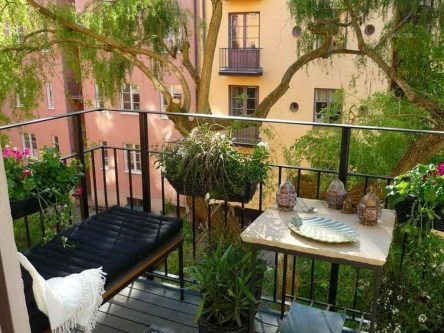 Comfy Small Seating Area In Your Balcony 24