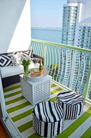 Comfy Small Seating Area In Your Balcony 27