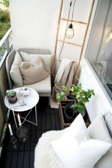 Comfy Small Seating Area In Your Balcony 32