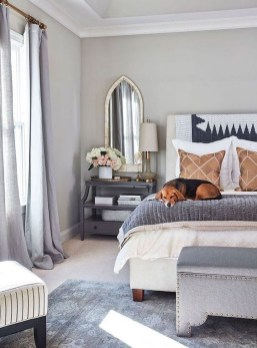 Easy Tips To Decorate Small Master Bedroom With Neutral Color 11