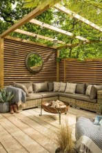 Fabulous Seating Area In The Garden 19