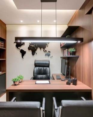 Fabulous Workspace Decor With Modern Style 08