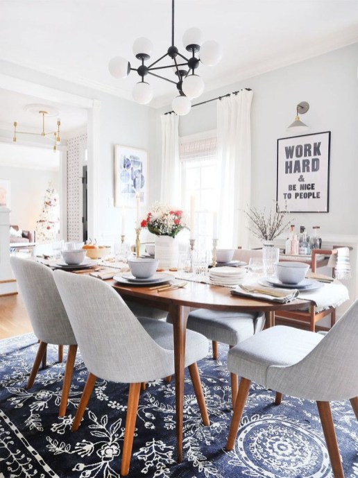 Inspiring Dining Room Table Design With Modern Style 02