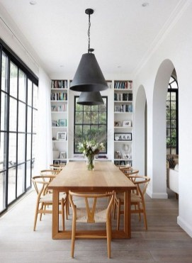 Inspiring Dining Room Table Design With Modern Style 05