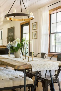 Inspiring Dining Room Table Design With Modern Style 06
