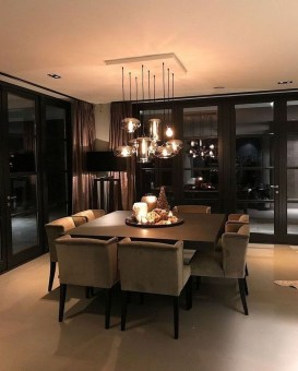 Inspiring Dining Room Table Design With Modern Style 22