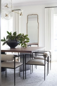 Inspiring Dining Room Table Design With Modern Style 32