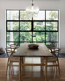 Inspiring Dining Room Table Design With Modern Style 35