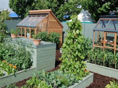 Inspiring Vegetable Garden Design For Your Backyard 20