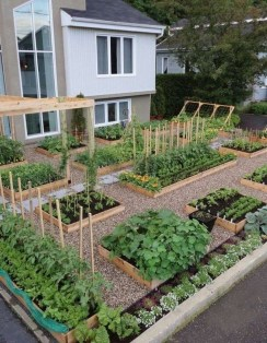 Inspiring Vegetable Garden Design For Your Backyard 25