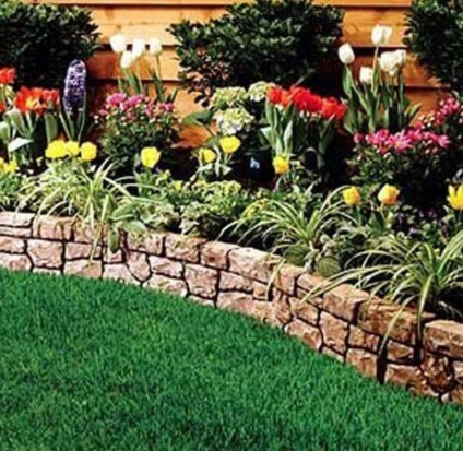 Perfect Bed Garden Design For Your Front Yard 03