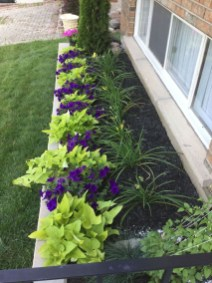 Perfect Bed Garden Design For Your Front Yard 15