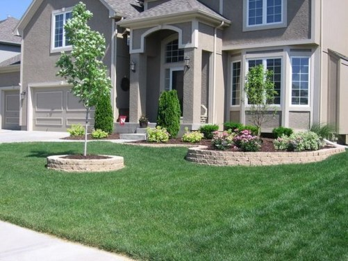 Perfect Bed Garden Design For Your Front Yard 31