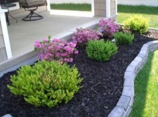 Perfect Bed Garden Design For Your Front Yard 34