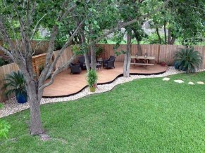 Simple But Beautiful Backyard Landscaping Idea On Budget 09