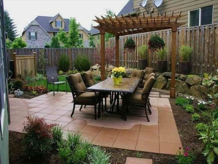 Simple But Beautiful Backyard Landscaping Idea On Budget 21