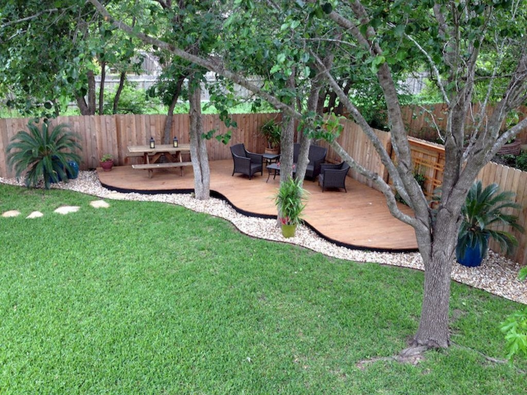 Simple But Beautiful Backyard Landscaping Idea On Budget 27