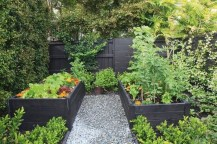 Small Courtyard Design With Some House Plants 30