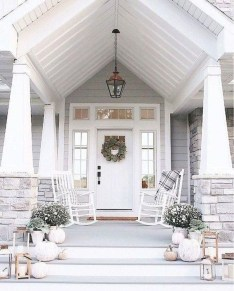 Stunning Fall Front Porch Decoration To Inspire Yourself 23