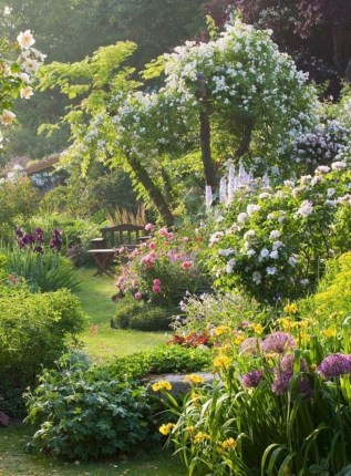 Beautiful Flower Garden Idea You Can Try 15