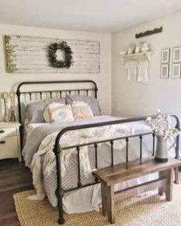 Best Farmhouse Bedroom Decoration You Can Do 20