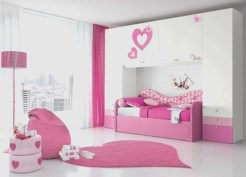 Lovely Small Bedroom Decor With Pink Nuance 04