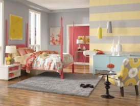 Lovely Small Bedroom Decor With Pink Nuance 08
