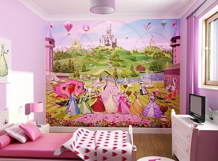 Lovely Small Bedroom Decor With Pink Nuance 16