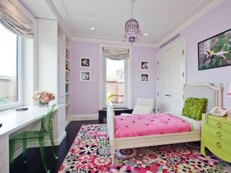 Lovely Small Bedroom Decor With Pink Nuance 23
