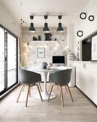 Lovely Small Dining Room Decoration In Your House 34