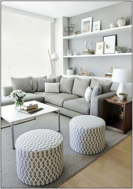 Perfect Small Living Room Design For Your Apartment 10