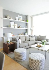 Perfect Small Living Room Design For Your Apartment 11