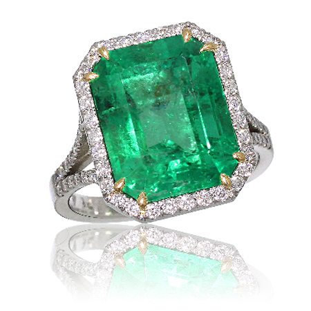 emerald ring green
