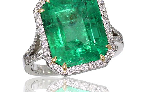 emerald ring green