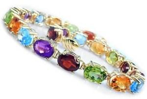 bracelet gemstones