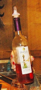 Duplin Wine's trademark lable featuring the Cape Hatteras Lighthouse