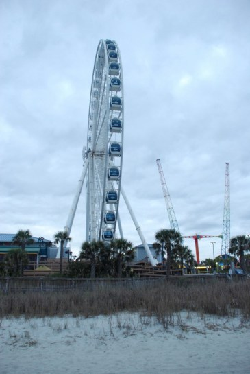 The 18-story SkyWheel