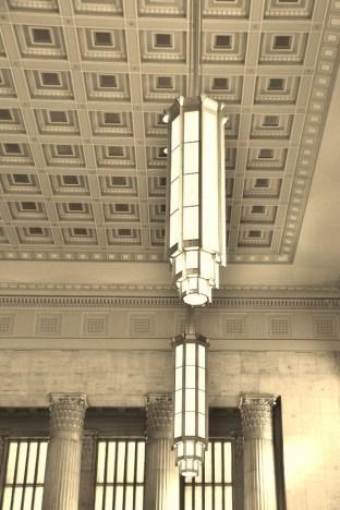 Philadelphia 30th Street Station, Lighting, Amtrak, station, Phildelphia
