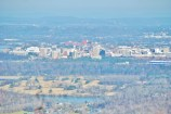View of Chattanooga from atop Raccoon Mountain.