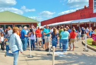 Four $4.00, Festival goers can line up and get servings of nine different cornbread recipes.